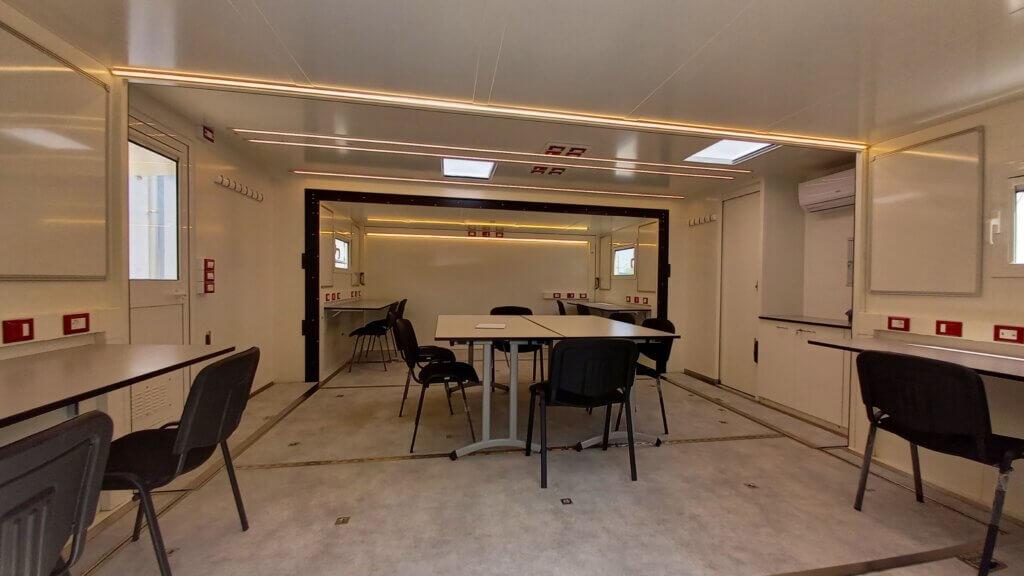 interno sala mobile operativa officine stefanuto
